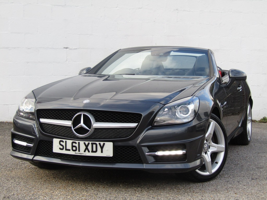 used Mercedes SLK200 1.8 BlueEfficiency AMG Sport in suffolk
