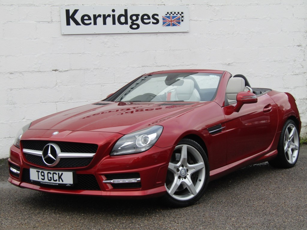 used Mercedes SLK250 2.1 CDi BlueEfficiency AMG Sport Auto Convertible in suffolk