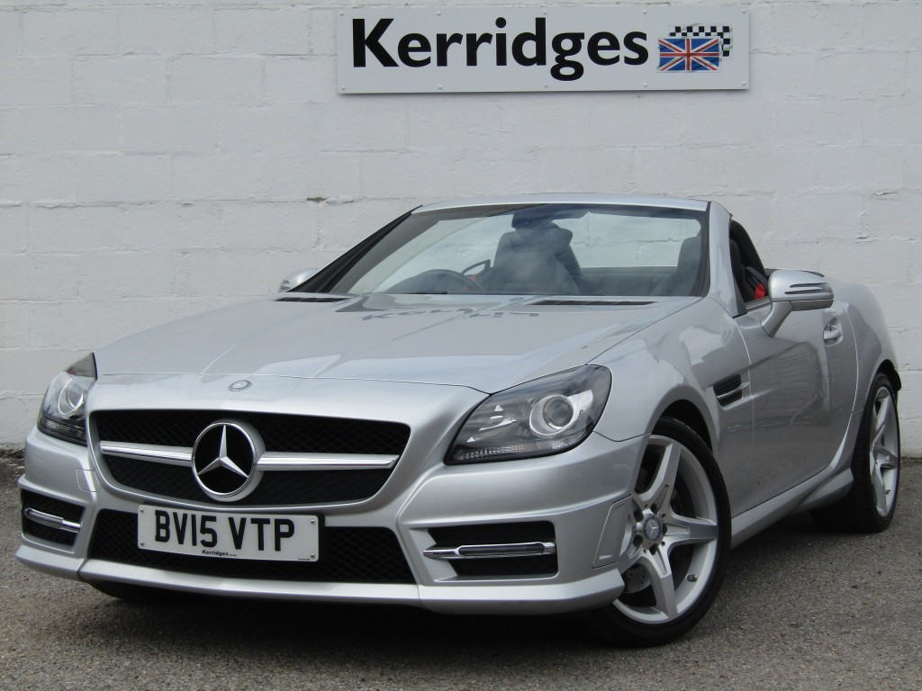 used Mercedes SLK250 2.2 CDi AMG Sport BlueEfficiency Auto Convertible in suffolk