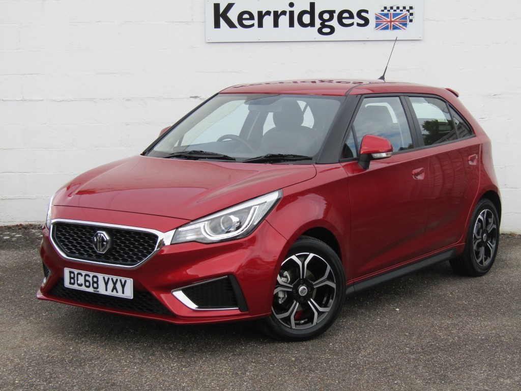 used MG 3 Exclusive 1.5 VTi-Tech 5 door in suffolk