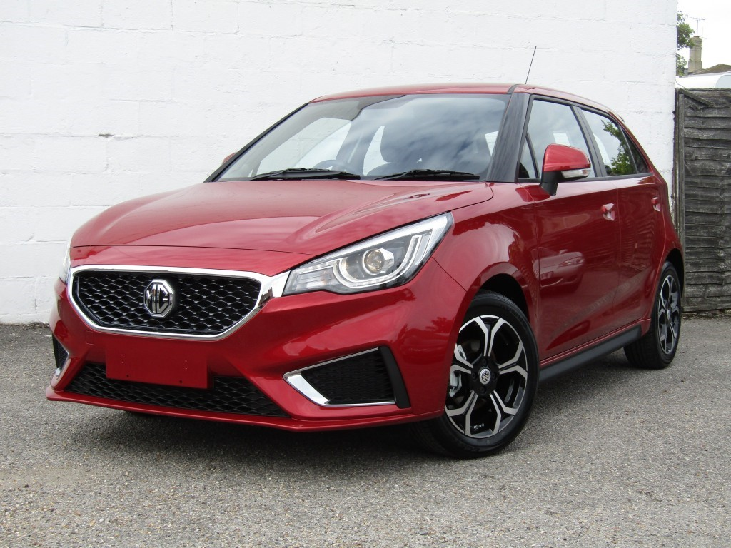 used MG 3 Excite 1.5 VTi-Tech 5 door in suffolk