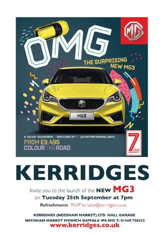 used MG Motor UK MG3  in suffolk