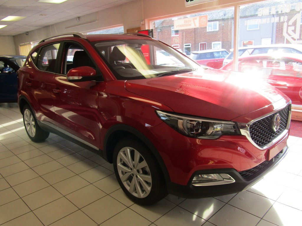 used MG ZS Excite 1.5 VTi-Tech 5 door in suffolk