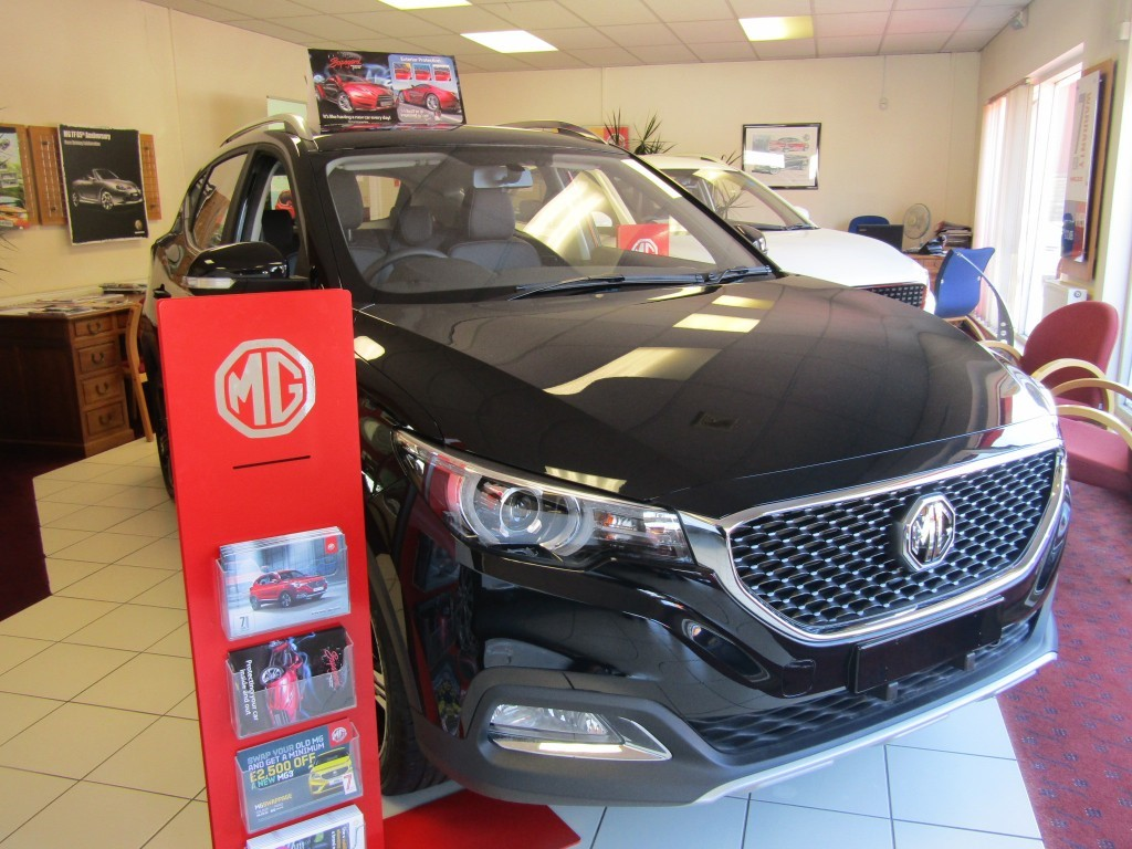 used MG ZS Exclusive 1.5 VTi-Tech 5 door in suffolk