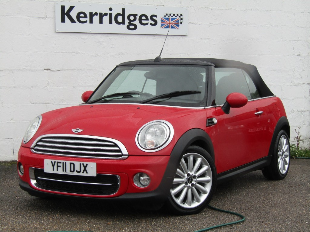 used MINI Convertible Cooper 1.6d Convertible in suffolk