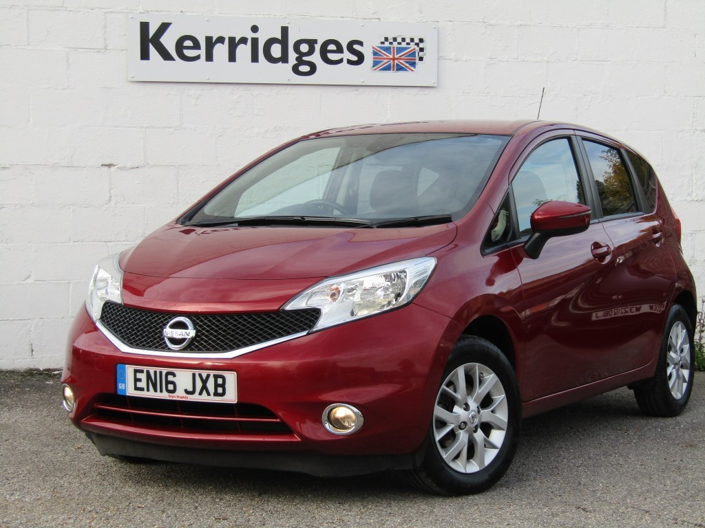 used Nissan Note 1.2 Acenta Premium 5 door in suffolk