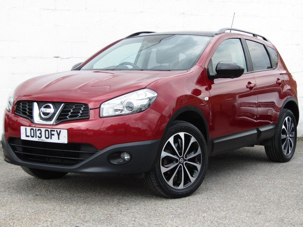 used Nissan Qashqai 360 1.6 5 door in suffolk