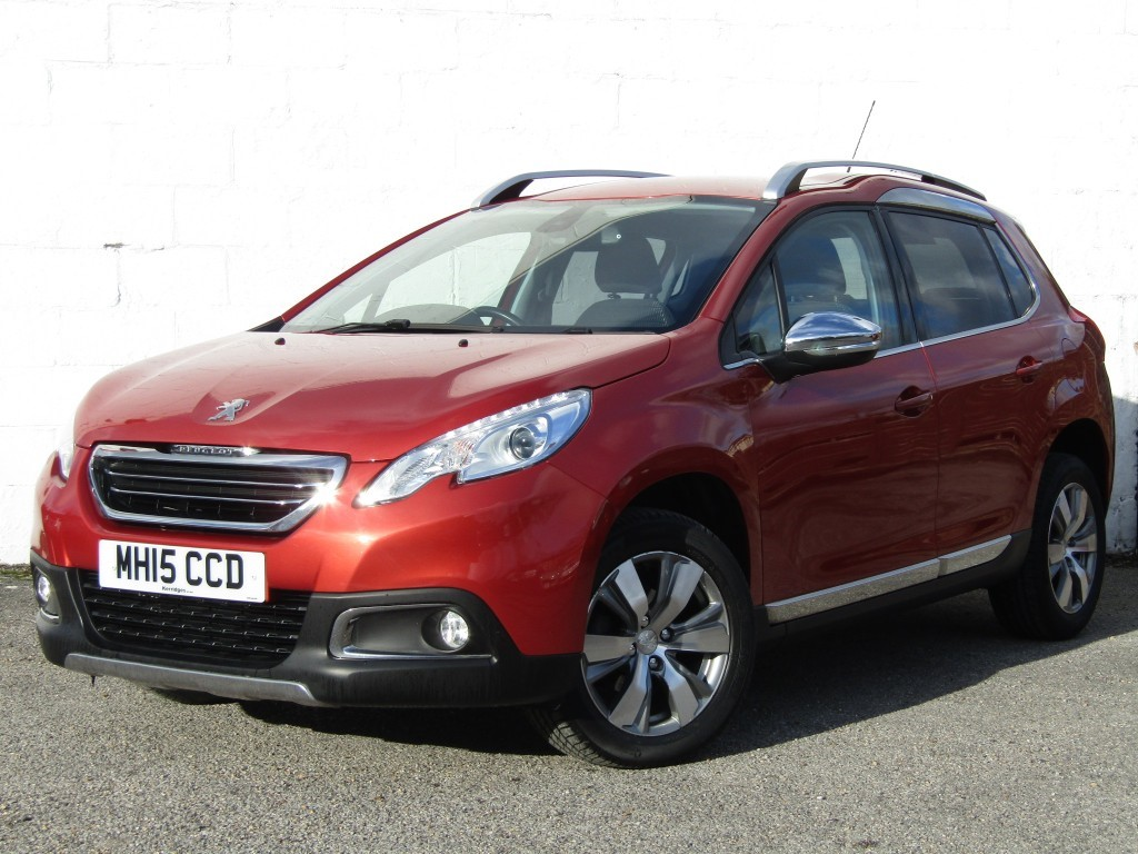 used Peugeot 2008 1.6 e-HDi Allure S/A S/W 5 door in suffolk