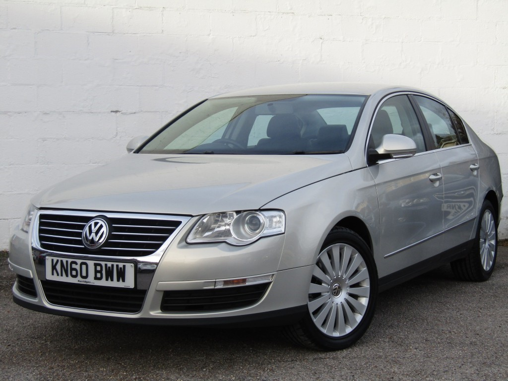 used VW Passat 2.0 TDi Highline+ 4 door in suffolk