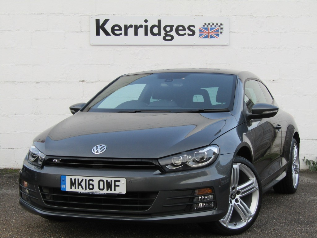 used VW Scirocco 2.0 TDi R-Line BlueMotion Technology Coupe in suffolk