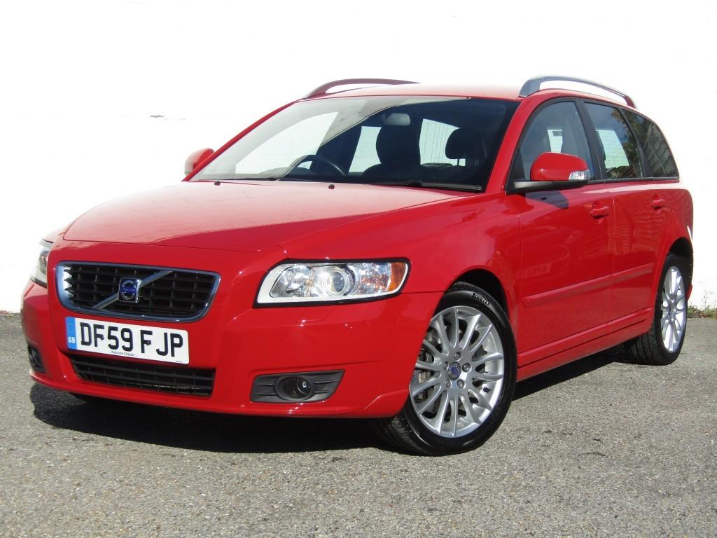 used Volvo V50 2.0d SE Lux Auto Estate in suffolk