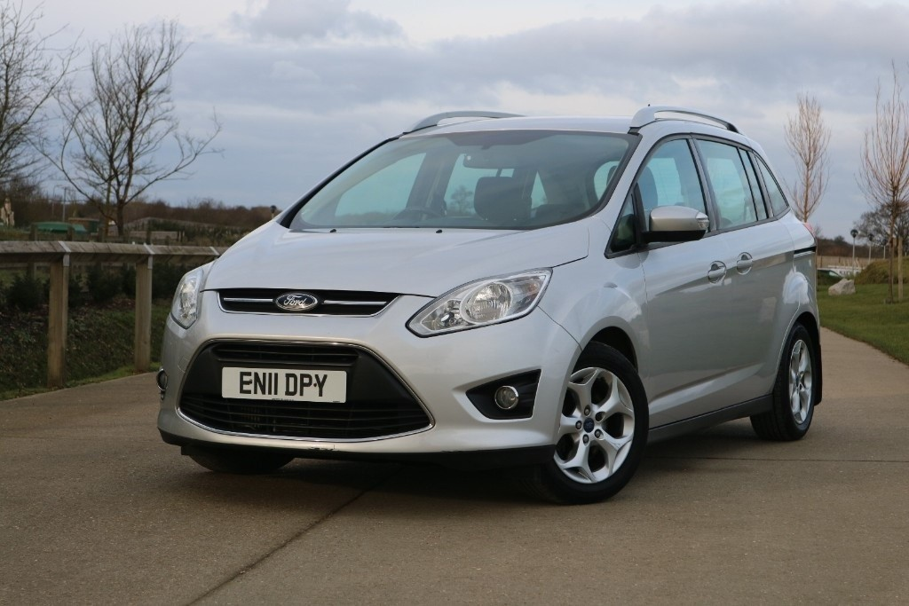 used Ford C-Max GRAND ZETEC TDCI in essex
