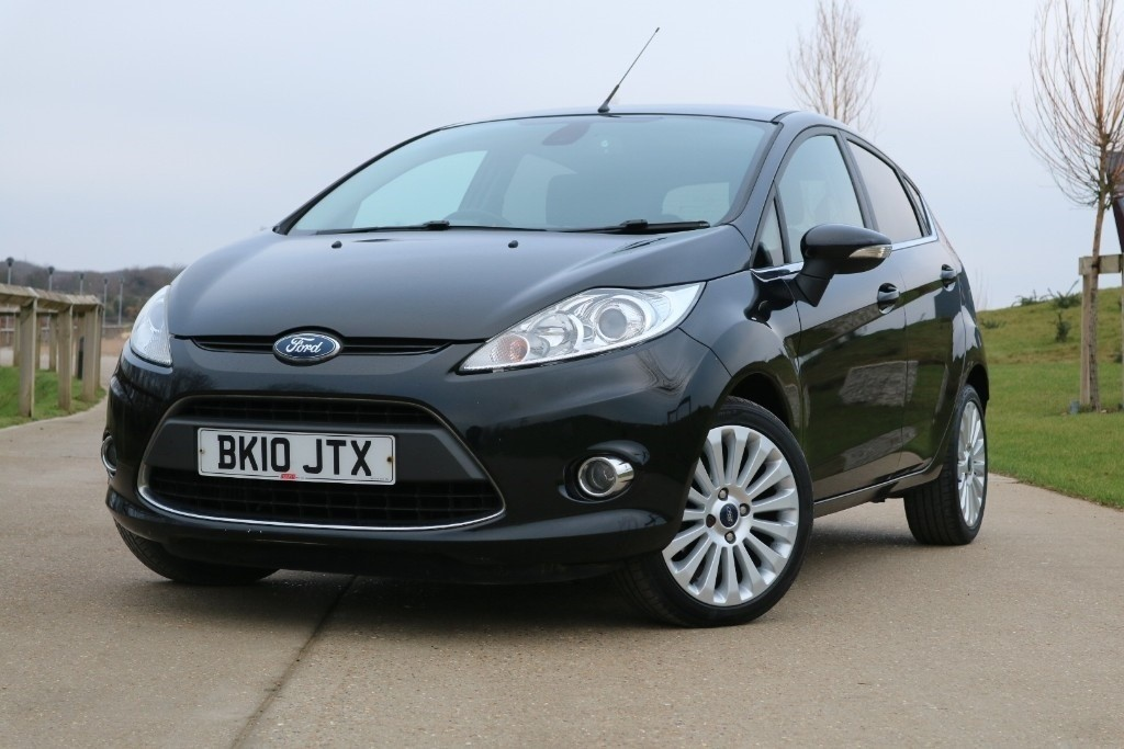 used Ford Fiesta TITANIUM TDCI in essex