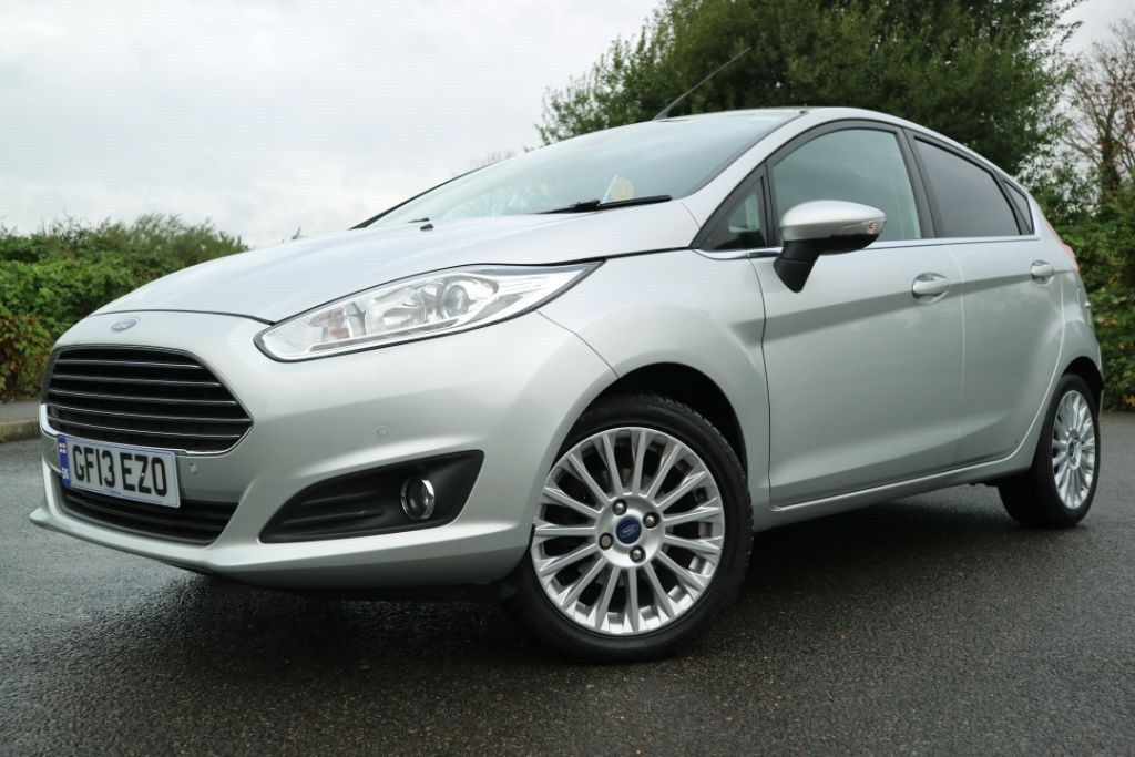 used Ford Fiesta TITANIUM in essex