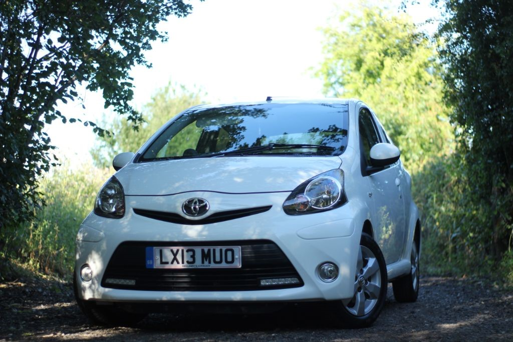 used Toyota Aygo VVT-I FIRE AC in essex