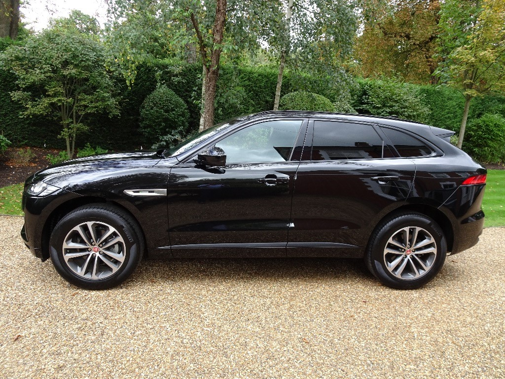 used Jaguar F-Pace R-SPORT AWD in chobham-surrey