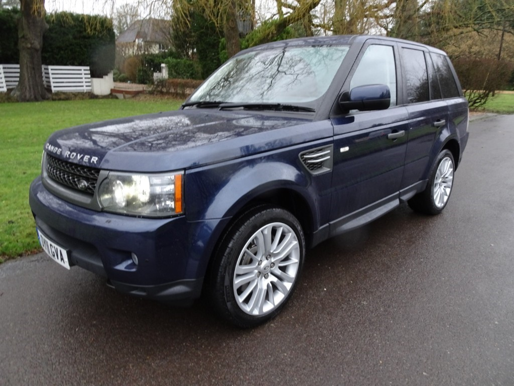 used baltic blue land rover range rover sport for sale surrey. Black Bedroom Furniture Sets. Home Design Ideas