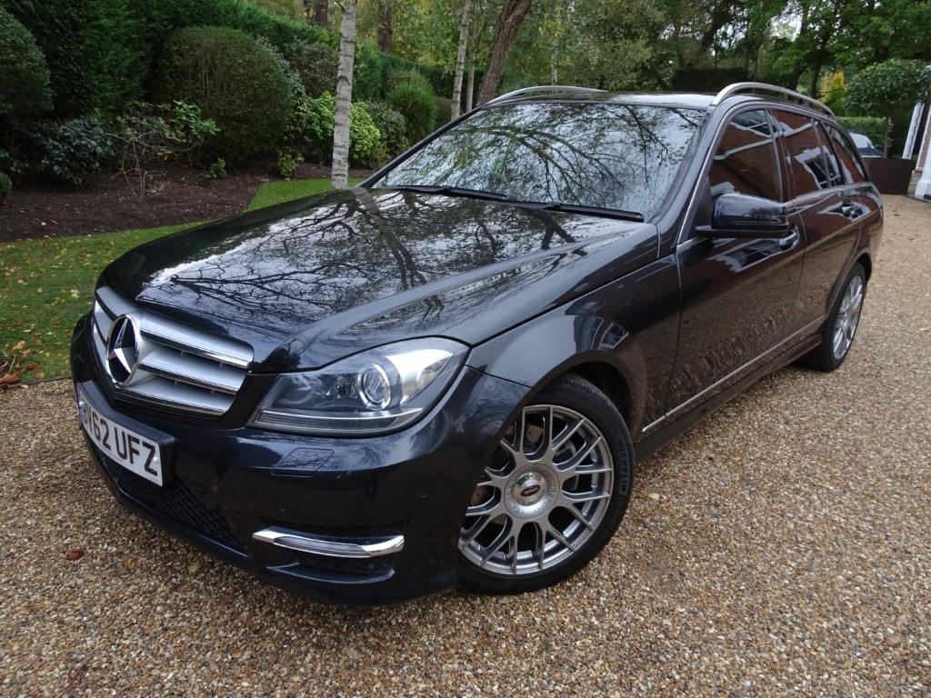 used Mercedes C180 BLUEEFFICIENCY AMG SPORT PLUS in chobham-surrey