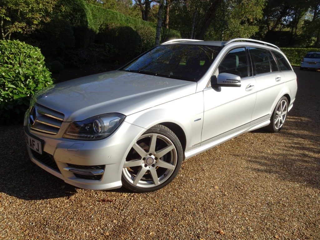used Mercedes C220 CDI BLUEEFFICIENCY SPORT ED125 in chobham-surrey