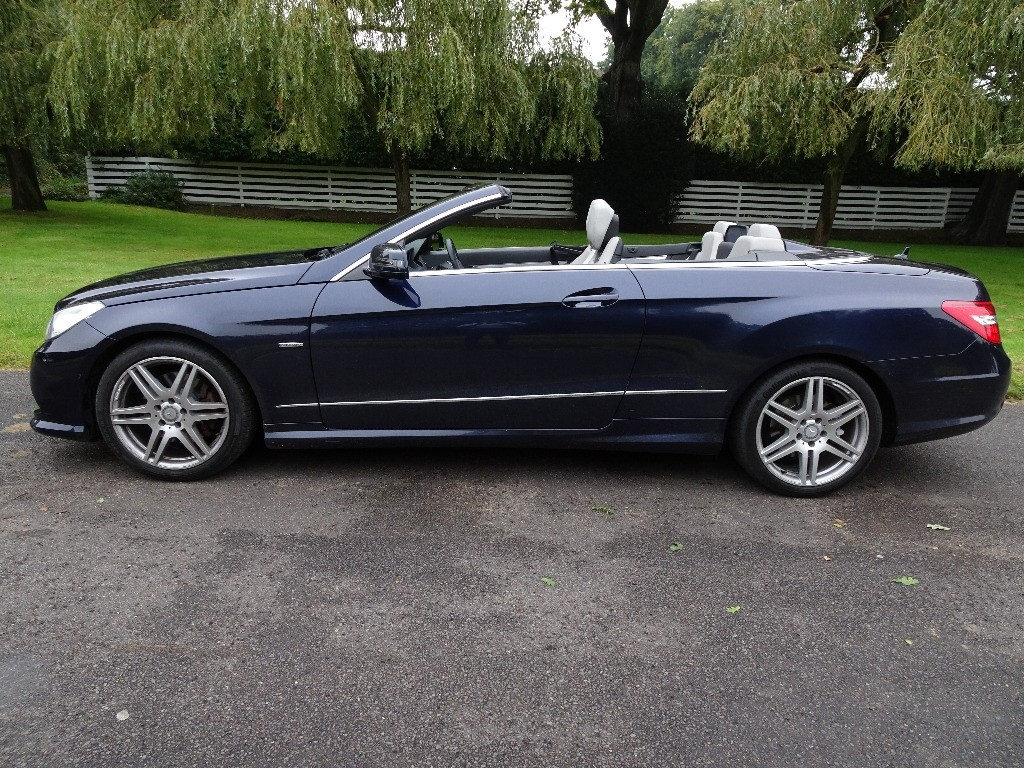 used Mercedes E350 CDI BLUEEFFICIENCY SPORT E350 CDI BLUEEFFICIENCY SPORT in chobham-surrey
