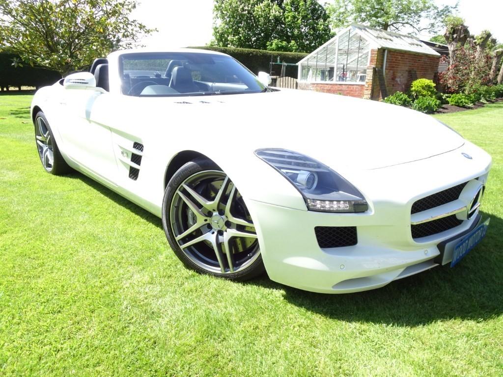 used Mercedes SLS Roadster in chobham-surrey