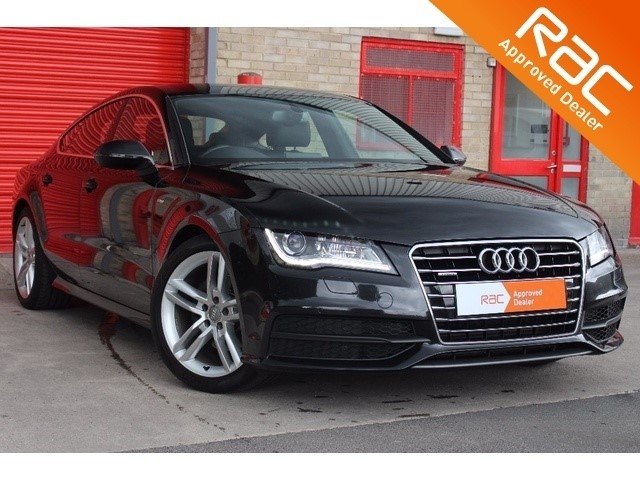 used Audi A7 TDI S Line Sportback Tronic Quattro 5dr in wakefield-west-yorkshire