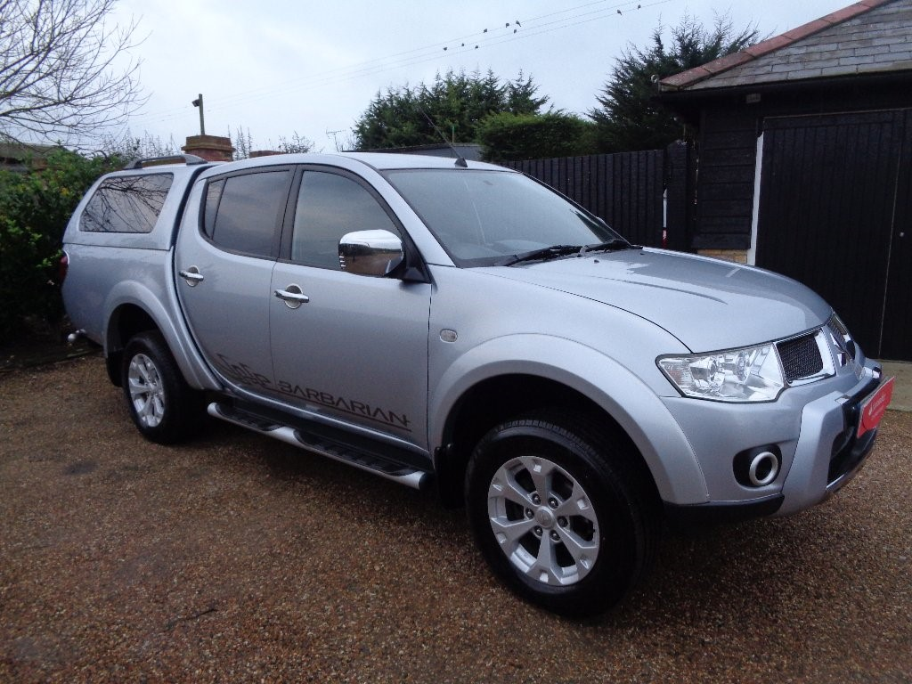 used Mitsubishi L200 2.5 DI-D CR Barbarian LB Double Pickup 4WD 4dr