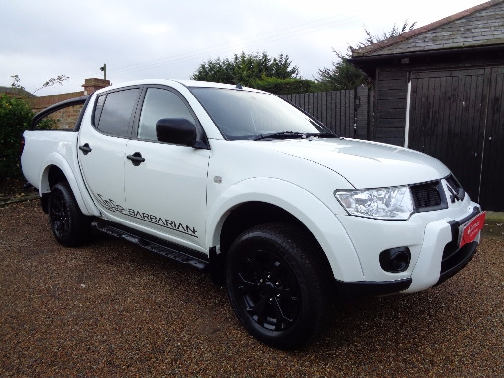 used Mitsubishi L200 DI-D CR Barbarian LB Double Pickup 4WD 4dr
