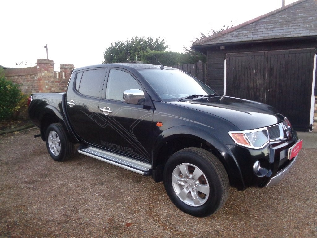 used Mitsubishi L200 DI-D Animal Double Cab Pickup 4WD 4dr