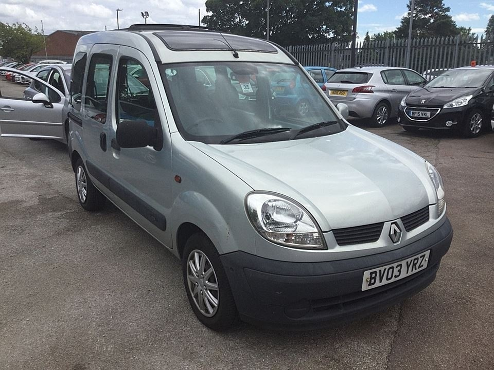 used Renault Kangoo dCi Expression 5dr