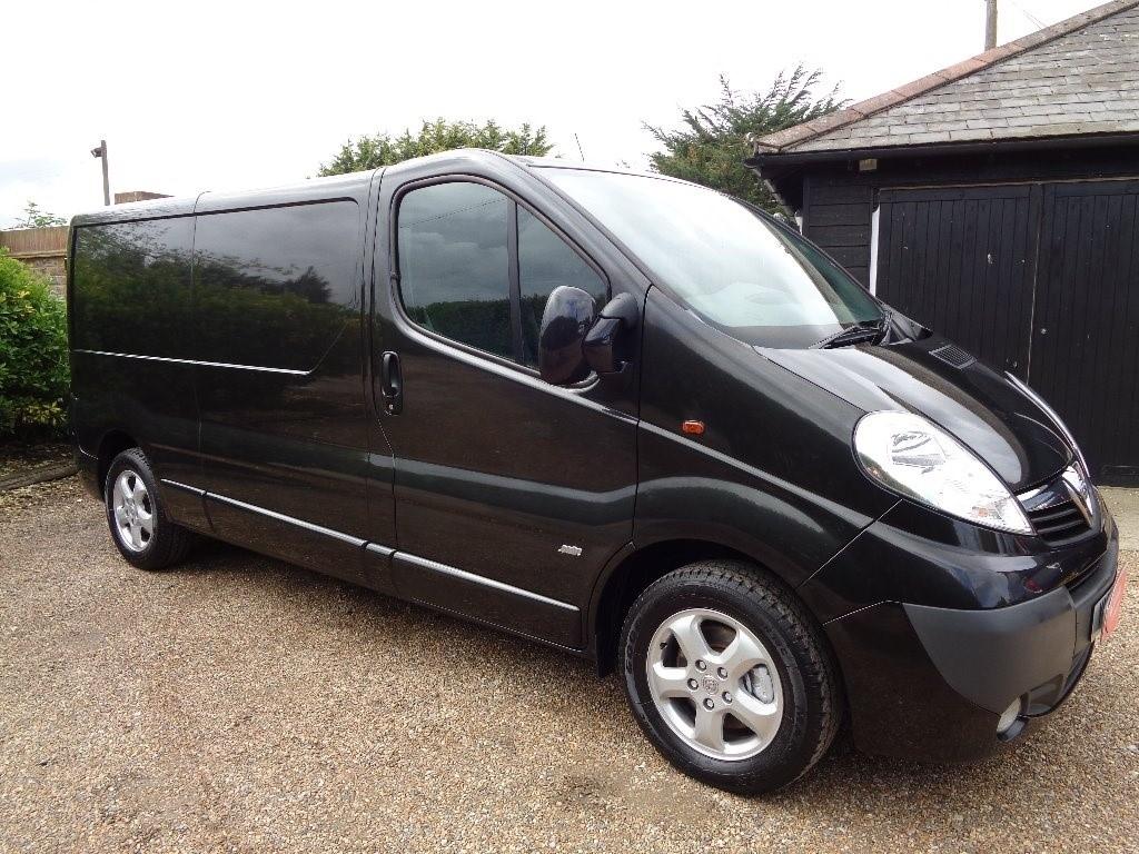used Vauxhall Vivaro CDTi Sportive 2900 Panel Van 4dr (LWB, EU5)