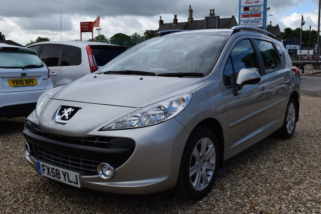 used grey peugeot 207 for sale lincolnshire. Black Bedroom Furniture Sets. Home Design Ideas
