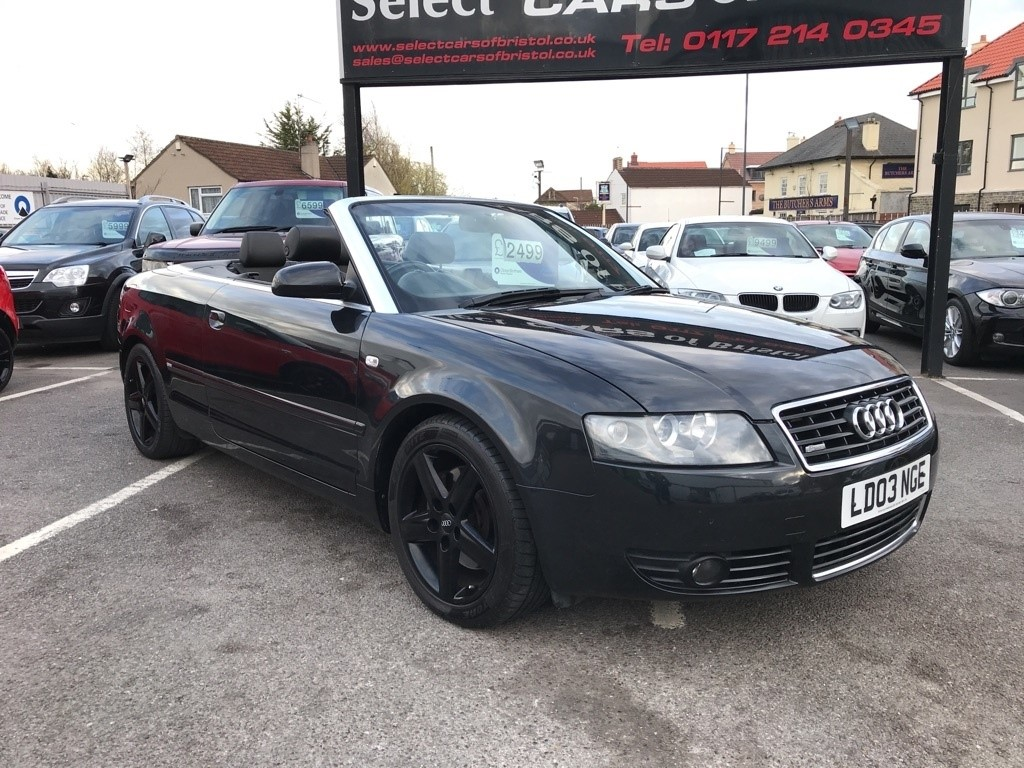 used Audi A4 Cabriolet Sport Cabriolet 2dr