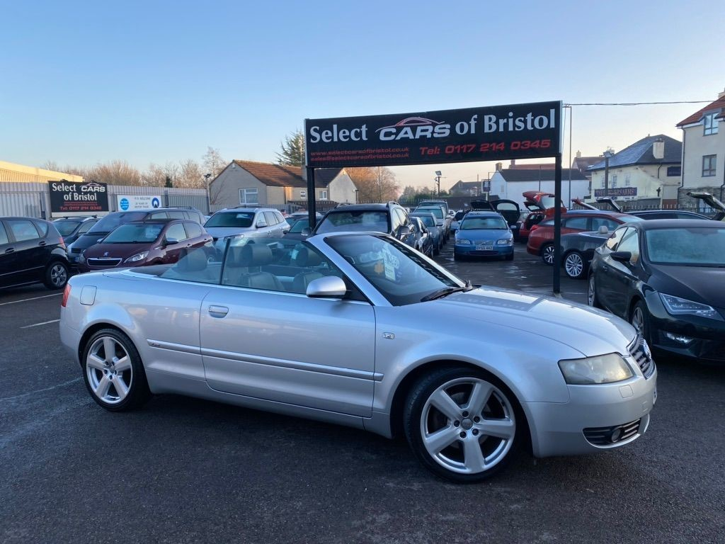used Audi A4 Cabriolet S line Cabriolet quattro 2dr