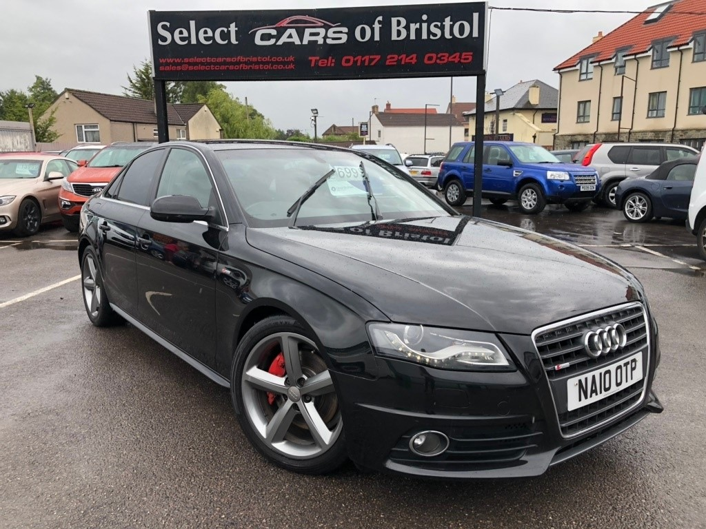 used Audi A4 TFSI S line 4dr