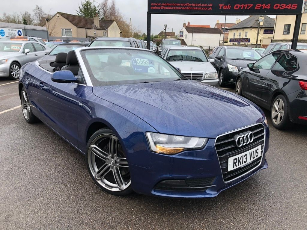 used Audi A5 TDI Coupe 2dr Manual (120 g/km, 175 bhp)