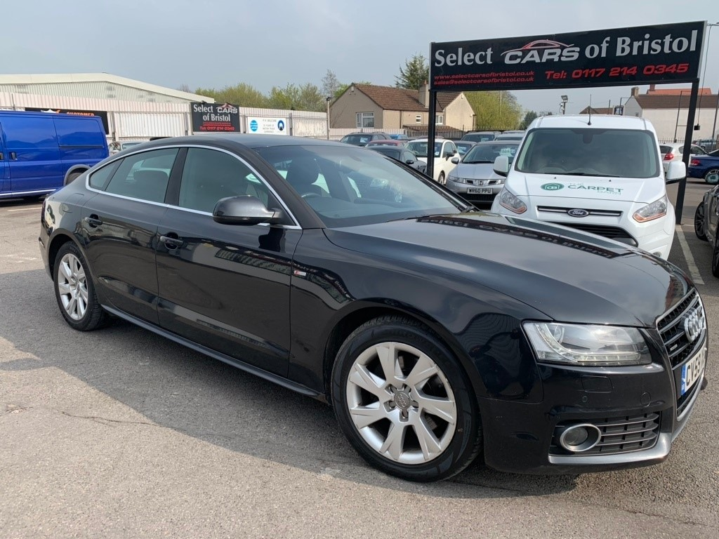 used Audi A5 TDI S line Sportback Tronic quattro 5dr