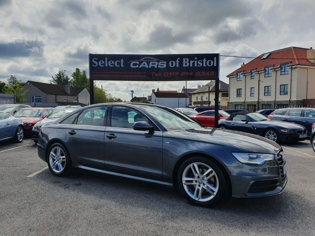 used Audi A6 Saloon TDI S line Saloon 4dr Manual (129 g/km, 175 bhp)