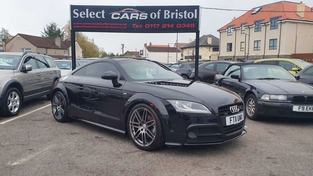 used Audi TT TD Black Edition 2dr