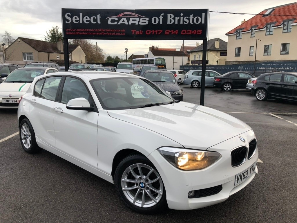 used BMW 116d 1 Series EfficientDynamics Sports Hatch 5dr Manual (s/s) (99 g/km, 116 bhp)