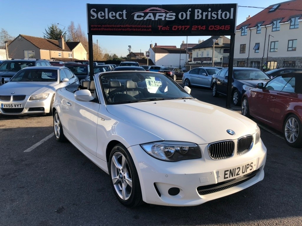 used BMW 118d 1 Series Exclusive Edition Convertible 2dr Automatic (145 g/km, 143 bhp)