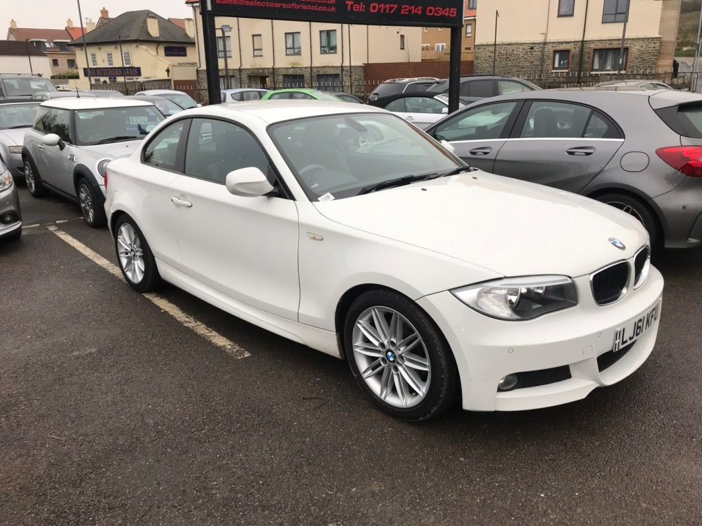 used BMW 118d 1 Series M Sport Coupe 2dr Manual (118 g/km, 143 bhp)