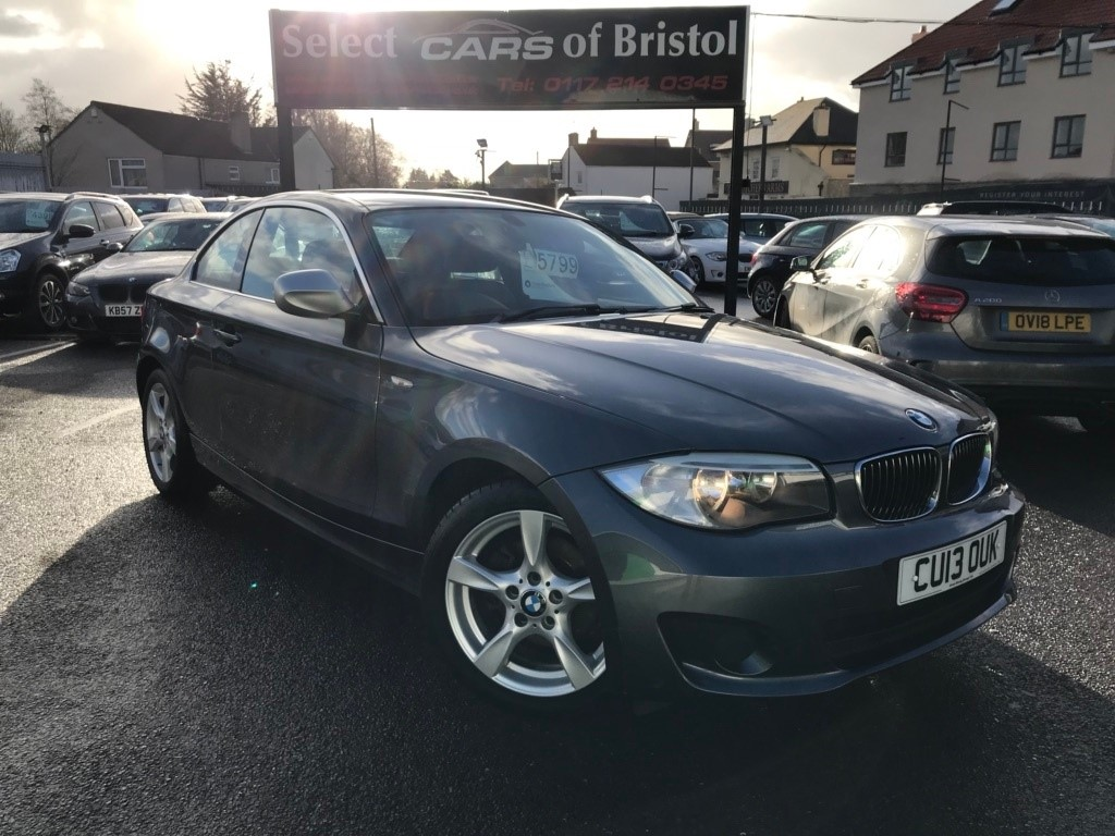 used BMW 118d 1 Series Exclusive Edition Coupe 2dr Manual (118 g/km, 143 bhp)