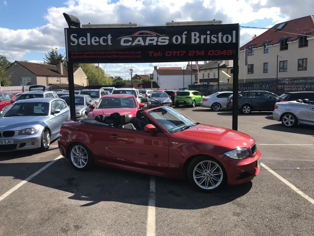 used BMW 118i 1 Series M Sport Convertible 2dr Manual (153 g/km, 143 bhp)