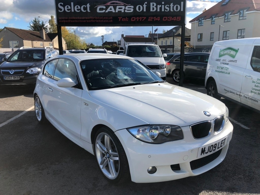 used BMW 123d 1 Series M Sport 3dr