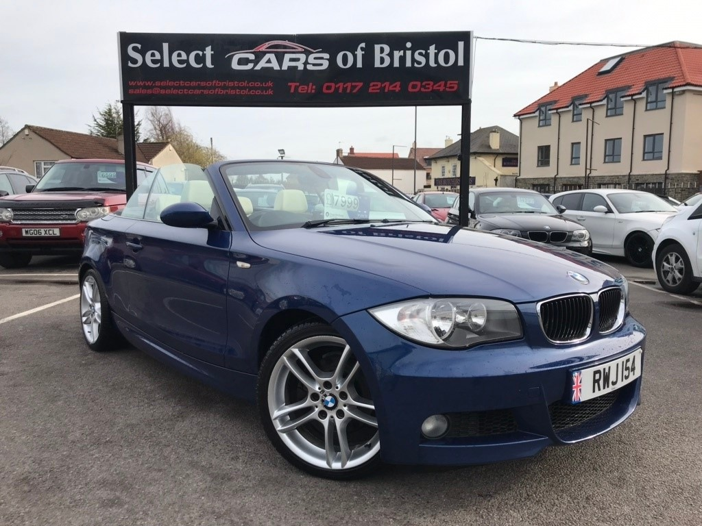 used BMW 125i 1 Series M Sport Convertible 2dr Manual (195 g/km, 218 bhp)
