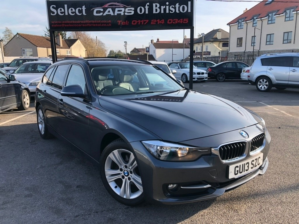 used BMW 318d 3 Series Sport Touring 5dr Automatic (s/s) (123 g/km, 143 bhp)