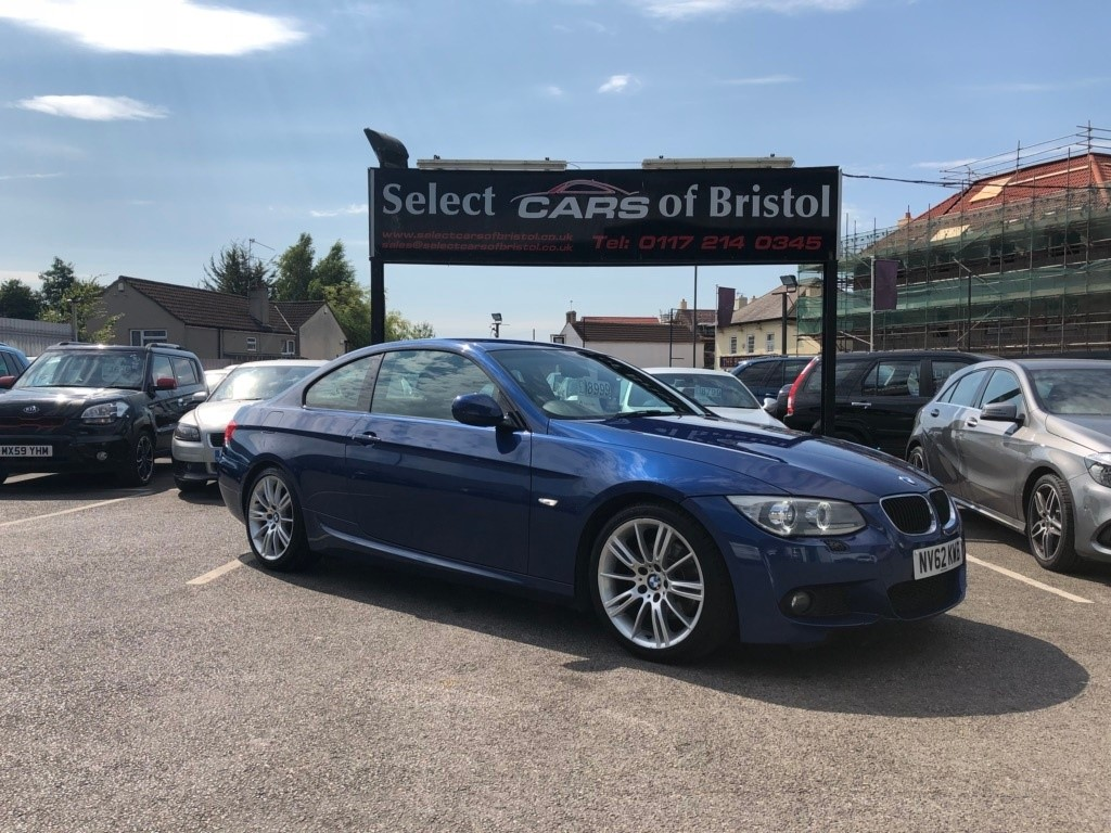 used BMW 320d 3 Series M Sport 2dr