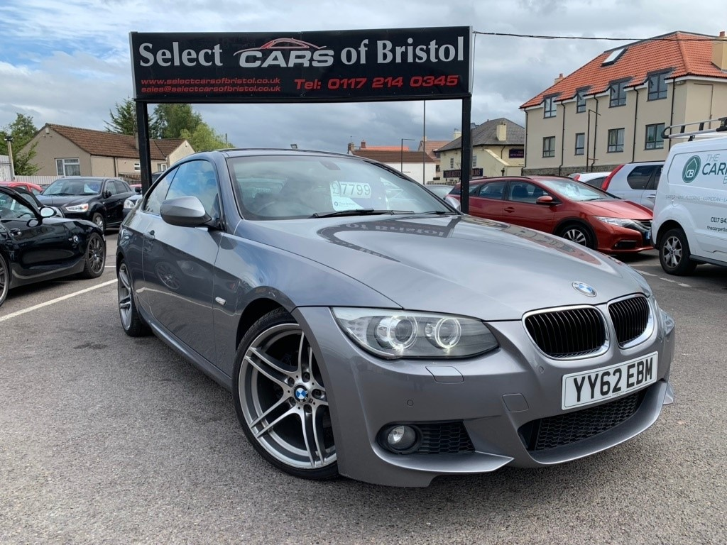 used BMW 320d 3 Series M Sport Coupe 2dr Manual (125 g/km, 184 bhp)