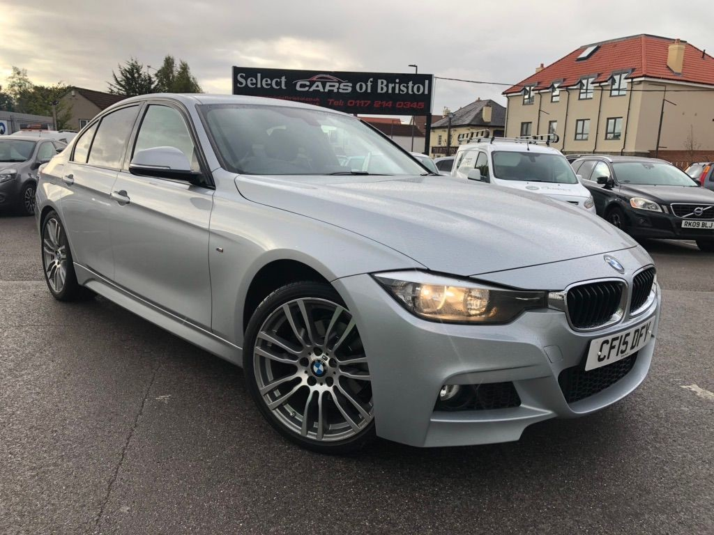 used BMW 320d BluePerformance M Sport Saloon Auto (s/s)